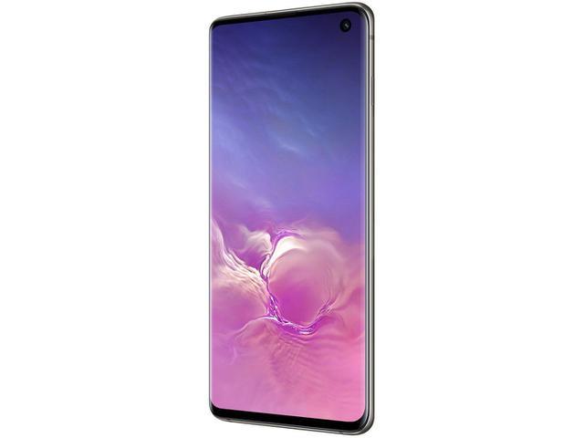 """Imagem de Smartphone Samsung Galaxy S10 128GB Preto 4G - 8GB RAM Tela 6,1"""" Câm. Tripla + Câm. Selfie 10MP"""