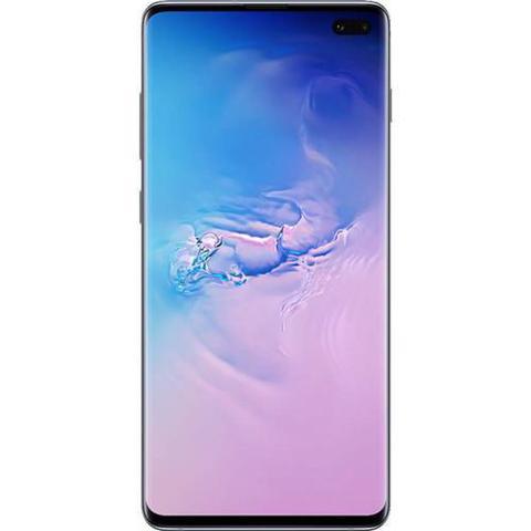 Imagem de Smartphone Samsung Galaxy S10+ 128GB, Tela 6.4 Pol., Câmera Tripla Traseira 12MP + 12MP + 16MP - Azu