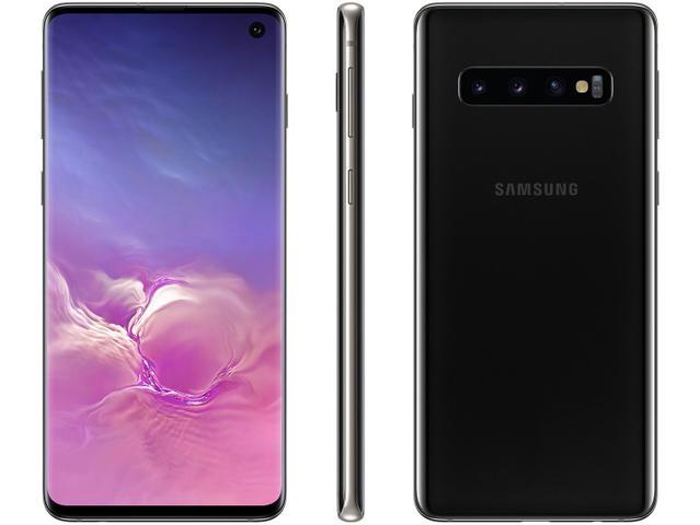 Imagem de Smartphone Samsung Galaxy S10 512GB Preto 4G