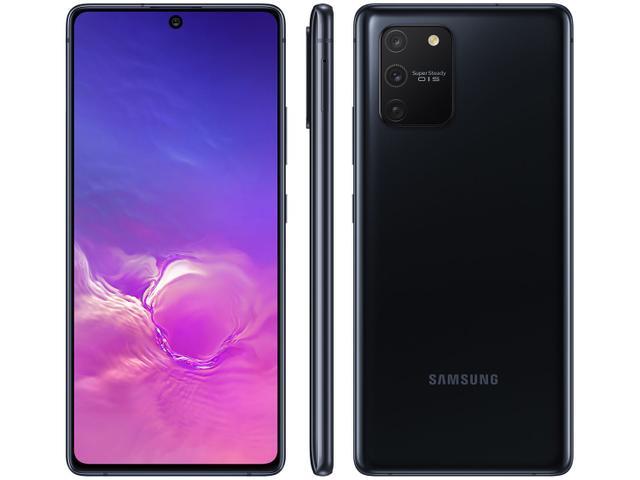 Imagem de Smartphone Samsung Galaxy S10 Lite 128GB Preto 4G