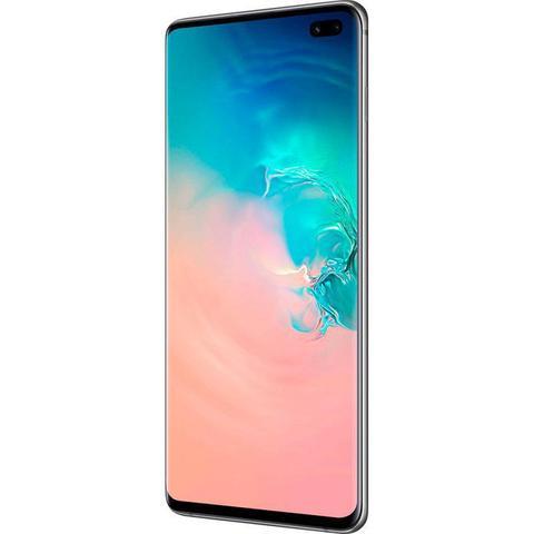 Imagem de Smartphone Samsung Galaxy S10 Plus Branco 128GB Dual Chip Tela 6,4