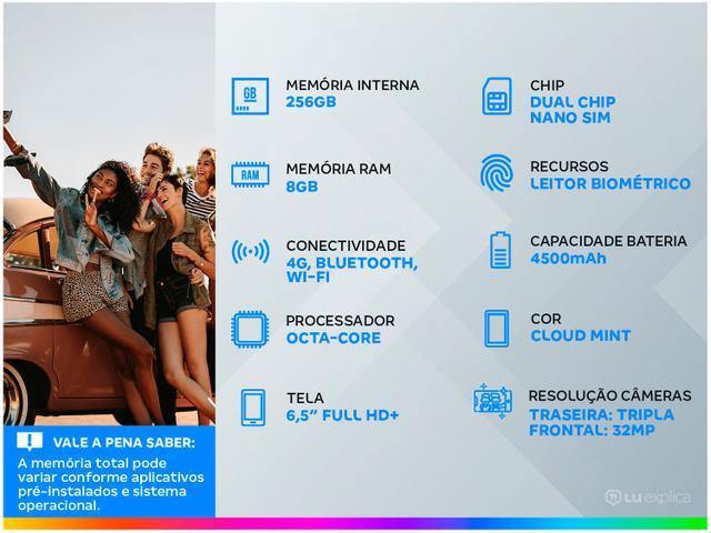 Imagem de Smartphone Samsung Galaxy S20 FE 256GB Cloud Mint