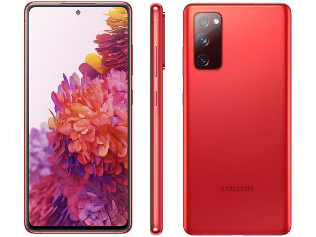 Imagem de Smartphone Samsung Galaxy S20 FE 256GB Cloud Red