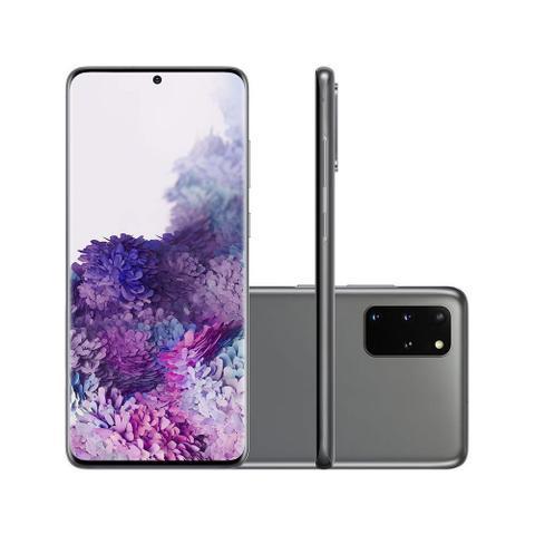 Imagem de Smartphone Samsung Galaxy S20 Plus 128GB 4G Tela 6.7 Polegadas Câmera Quádrupla 64MP Selfie 10MP Android 10