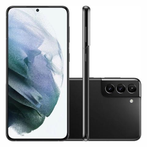 Imagem de Smartphone Samsung Galaxy S21+ 128GB 5G - Preto, Câmera Tripla 64MP + Selfie 10MP, RAM 8GB, Tela 6.7