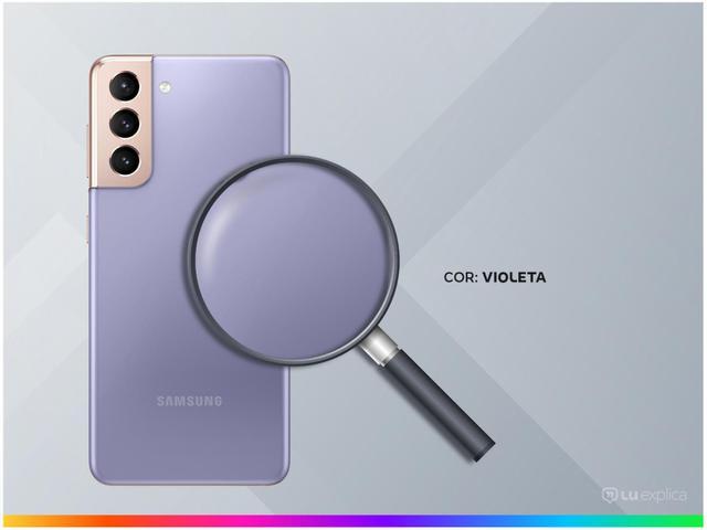 Imagem de Smartphone Samsung Galaxy S21 128GB Violeta 5G