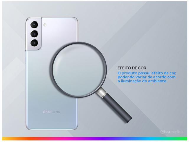 Imagem de Smartphone Samsung Galaxy S21+ 256GB Prata 5G