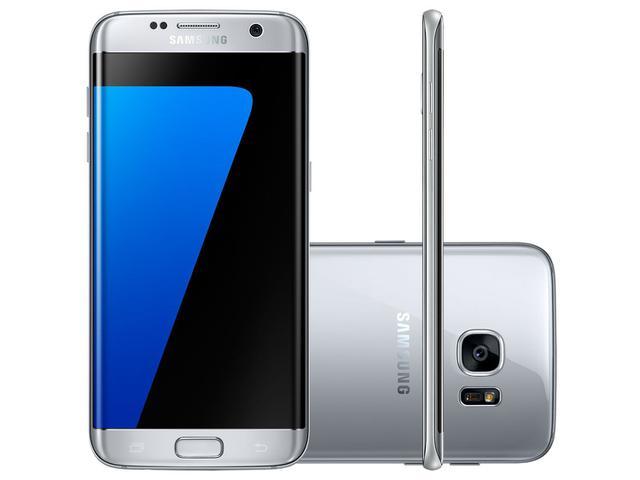 Imagem de Smartphone Samsung Galaxy S7 Edge 32GB Prata 4G