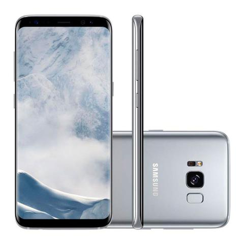 Imagem de Smartphone Samsung Galaxy S8 64GB Dual chip 4G Tela 5.8 Android 7.0 Camêra 12MP