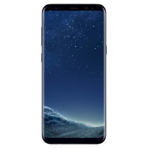 "Imagem de Smartphone Samsung Galaxy S8 Plus, 6.2"", 64GB, Android 7.0, 4G, 12MP - Preto"