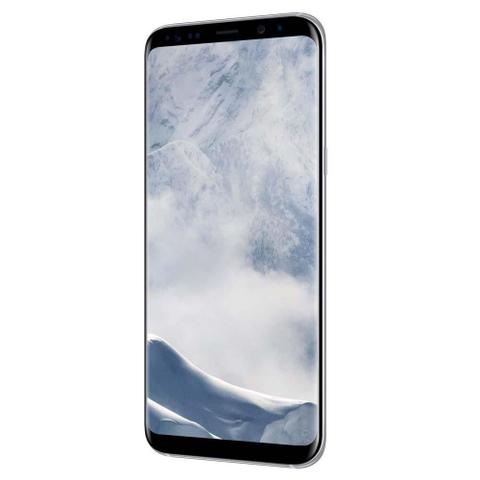 "Imagem de Smartphone Samsung Galaxy S8 Plus, 64GB, 6.2"", Android 7.0, 4G, 12MP - Prata"