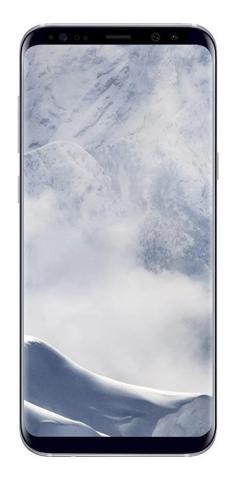 "Imagem de Smartphone Samsung Galaxy S8 Plus, 64GB, 6.2"", Android 7.0, 4G, 12MP - Prata"