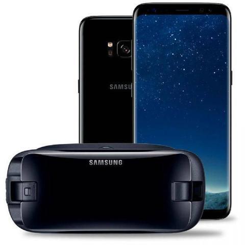 Imagem de Smartphone Samsung Galaxy S8, Preto, G950FD, Tela de 5.8