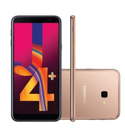 Imagem de Smartphone / Samsung / J4 Plus / Tela de 6 / Single Sim / 32GB - Dourado