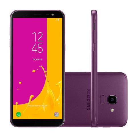Imagem de Smartphone Samsung J6 Dual Chip Android 8.0 Tela 5.6 32GB 4G Câmera 13MP