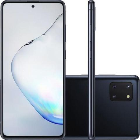 Imagem de Smartphone Samsung Note 10 Lite Tela Infinita 6.7 Octa-Core 2.7 128GB 4GB 12MP+12MP+3MP - Preto