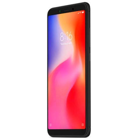 """Imagem de Smartphone Xiaomi Redmi 6 preto, Tela 5,45"""", 3GB Ram, 32GB, Câmera 12MP/5MP, Dual Sim"""