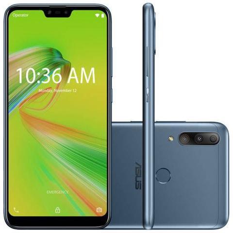 Imagem de Smartphone Zenfone Asus Max Shot -4GB/64GB - Azul