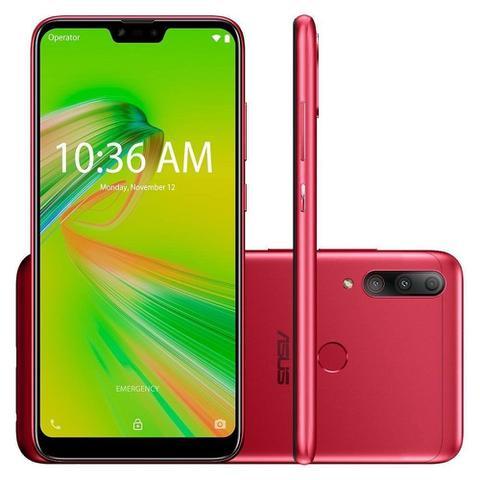 Imagem de Smartphone Zenfone Asus Max Shot -4GB/64GB - Vermelho