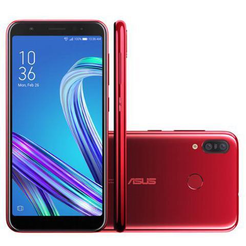 Celular Smartphone Asus Zenfone Max M3 Zb555kl 64gb Vermelho - Dual Chip