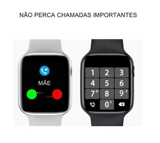 Imagem de Smartwatch 12 lite w26 troca pulseira/faz ligação-preto