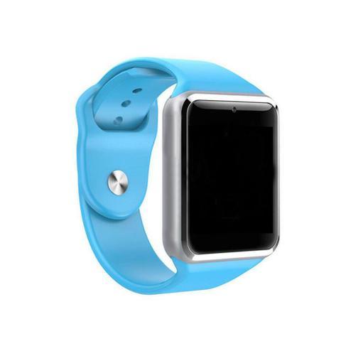 Imagem de Smartwatch A1 Relógio Inteligente Bluetooth Gear Chip Android iOS Touch Faz e atende ligações SMS Pedômetro Câmera - AZU
