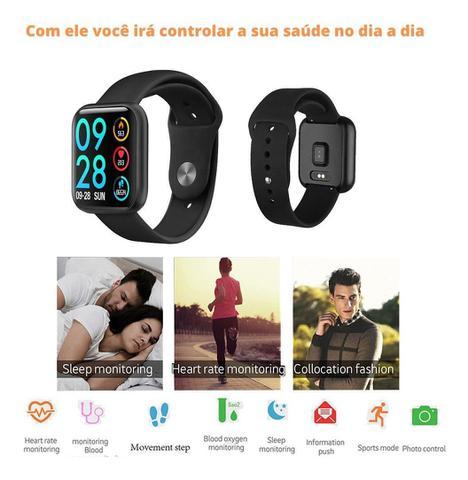 Imagem de Smartwatch Relógio P80 Duas Pulseiras A Prova Dágua