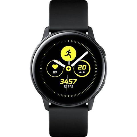 Imagem de Smartwatch Samsung Galaxy Watch Active Preto com Monitoramento Cardíaco Bluetooth