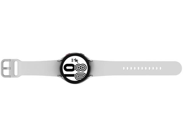 Imagem de Smartwatch Samsung Galaxy Watch4 BT Prata 44mm