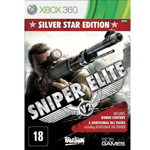 Jogo Sniper Elite V2: Silver Star Edition - Xbox 360 - 505 Games
