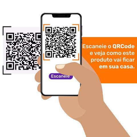 Imagem de Sofá-Cama 3 Lugares Casal Premium II Suede Café
