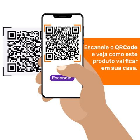 Imagem de Sofá-Cama Casal 3 Lugares Premium Suede Vermelho