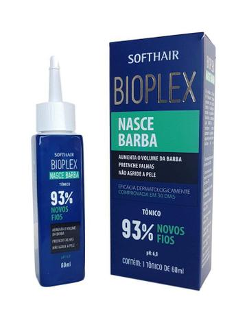 Imagem de SoftHair Bioplex Nasce Barba Tônico 60mL