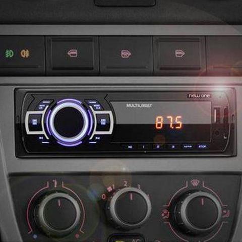 Imagem de Som Automotivo Multilaser New One MP3 USB P3318