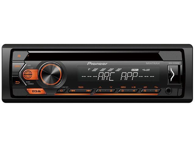 Imagem de Som Automotivo Pioneer CD Player USB Auxiliar - DEH-S1280UB