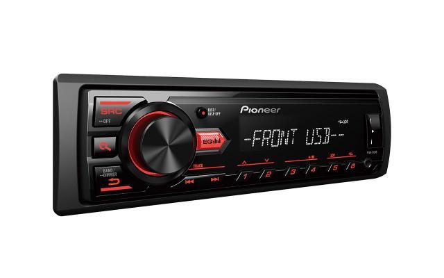 Imagem de Som Automotivo Pioneer MVH-98UB 1DIN AM/FM/USB/MP3 s/ mecanismo