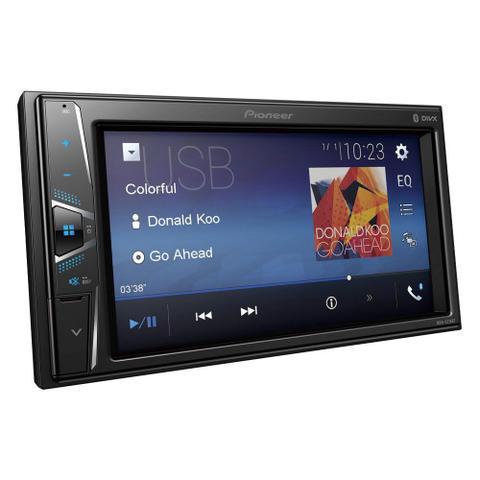 Imagem de Som Automotivo Pioneer MVH-G218BT 2 Din Com Tela 6.2 USB e Bluetooth