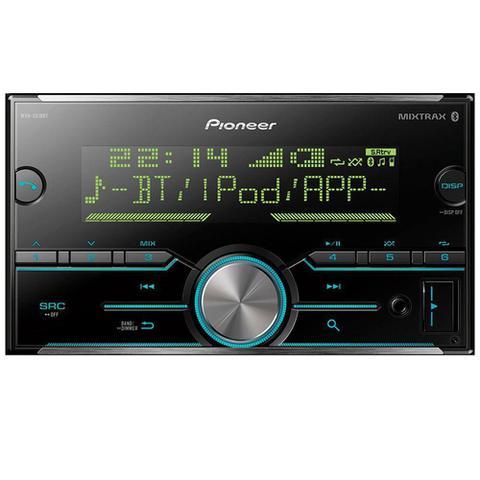 Imagem de Som Automotivo Pioneer MVH-S618BT, 2 Din, Bluetooth, USB, RCA