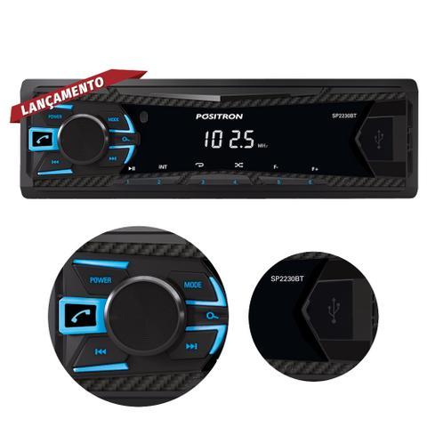 Imagem de Som Automotivo Pósitron MP3 Player SP2230 com Bluetooth