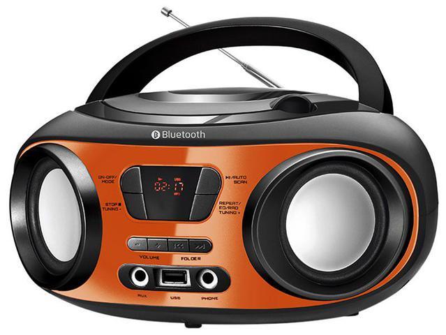 Imagem de Som Portátil Mondial FM 8W CD Player
