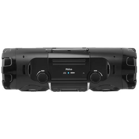 Imagem de Som Portátil Philco FM 200W CD Player Display Digital PB500BT Bluetooth Entrada USB MP3