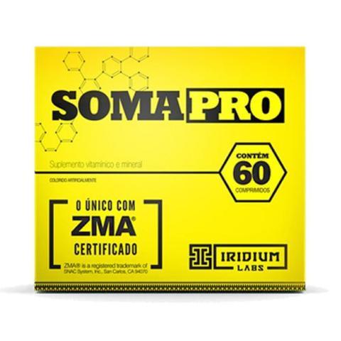 Imagem de Somapro Com ZMA - 60 Cápsulas - Iridium