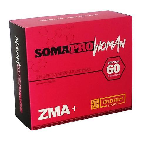 Imagem de Somapro Woman ZMA 60 Comprimidos Iridium Labs Original