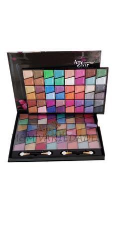 Imagem de Sombra paleta estojo com 96 cores any color