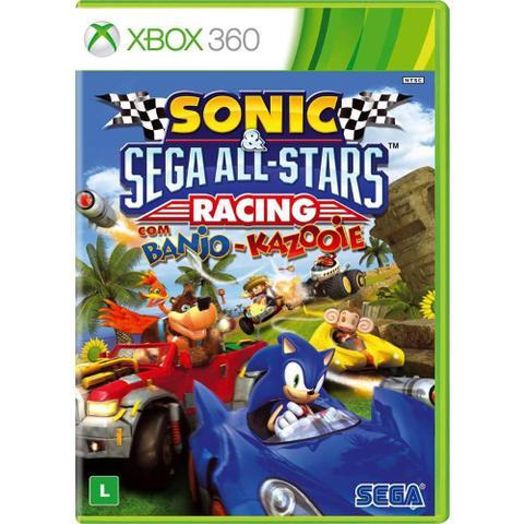 Imagem de Sonic e SEGA All Stars Racing com Banjo-Kazooie - XBOX 360