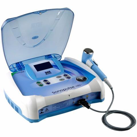 Imagem de Sonopulse 1,0 E 3,0 Mhz Ibramed Aparelho De Ultrassom De Fisioterapia e Estética