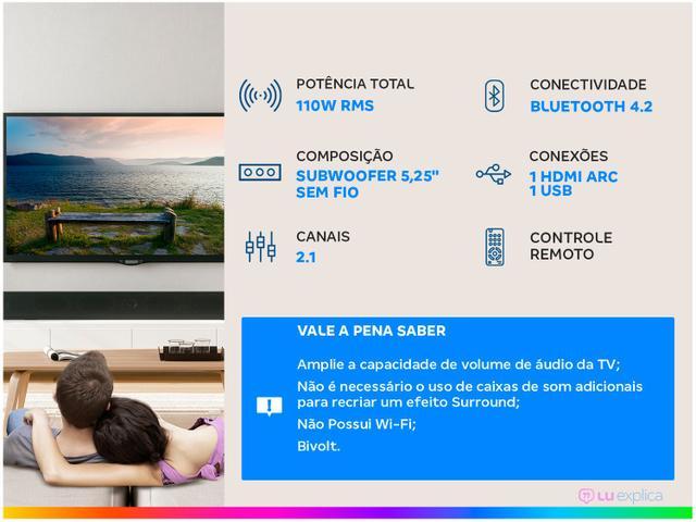 Imagem de Soundbar JBL com Subwoofer Wireless Bluetooth