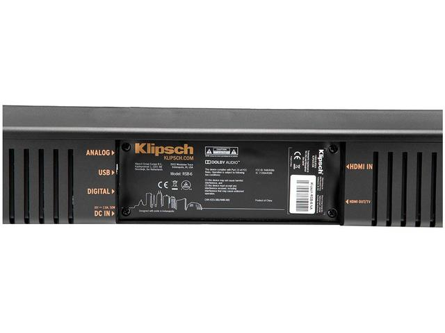 Imagem de Soundbar Klipsch com Subwoofer Wireless 120W