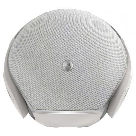 Caixa de Som Motorola Branca Sphere