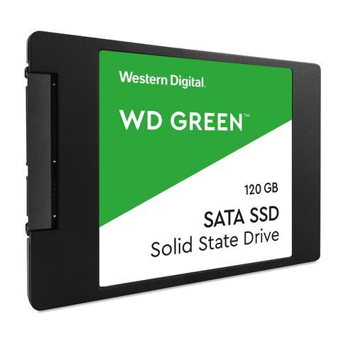 Imagem de SSD 120GB WD Western Digital Green SATA 3 6Gb/s 2,5 WDS120G2G0A